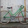 "$200 Schwinn Varsity 10 spd road bike #0041303  18"" frame, 27"" wheels."