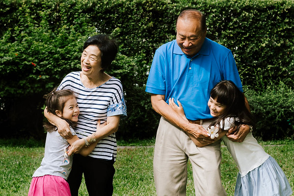Bangkok Family Photography- Lifestyle Session with Grandparents