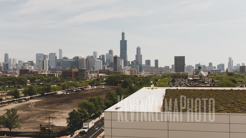 Chicago Skyline from Rush University Hospital