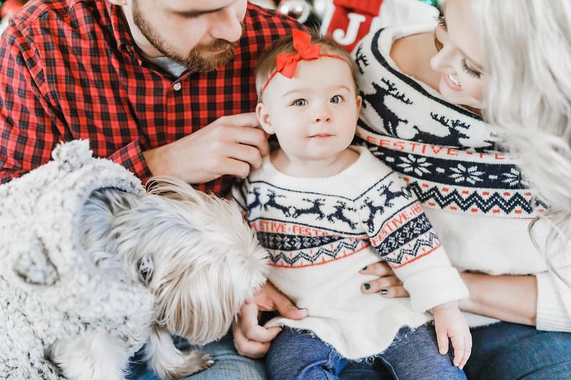 Shannon, Alen, Ava, Christmas Redux