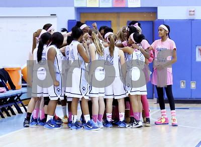 Magruder @ Clarksburg Girls JV Basketball 2015