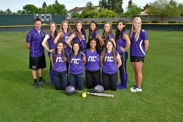 2014 Softball Team Pics