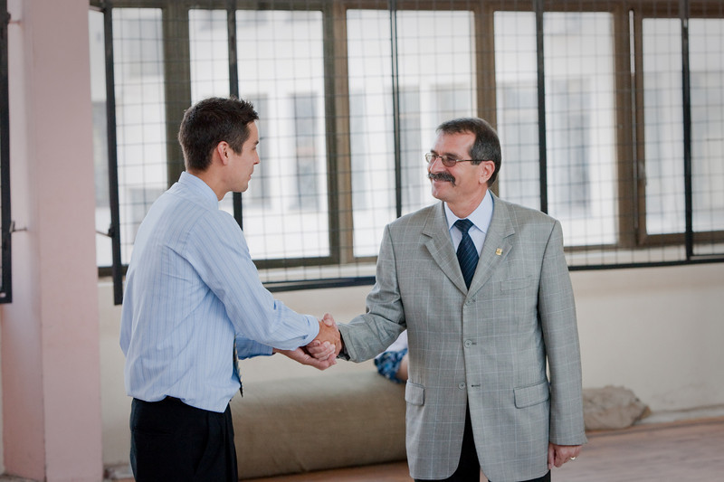 Furthering the awesomeness of America one handshake at a time  Although I will say that in this picture that amazing Bulgarian mustache is really showing us up