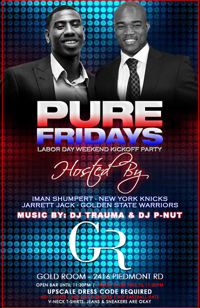 Aug-31-2012 ::: PURE Fridays at Gold Room ::: ATL, GA, USA