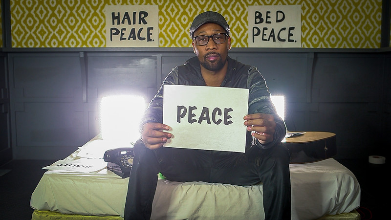 2018_03_14, Austin, SXSW, The Belmont, TX, bed in, interview, RZA, peace,