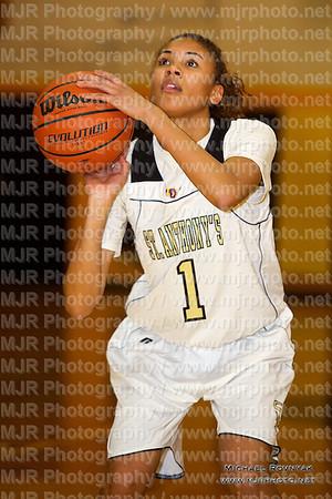 St Anthony's VS St Dominics, Girls Varsity Basketball 02.28.12