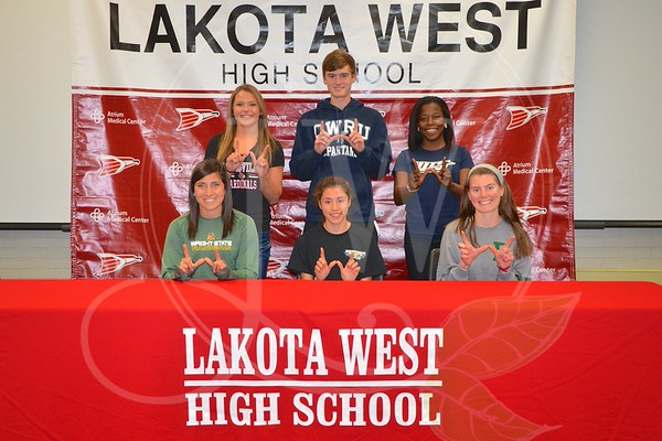 Lakota West Spring Signing Day 4.15.15
