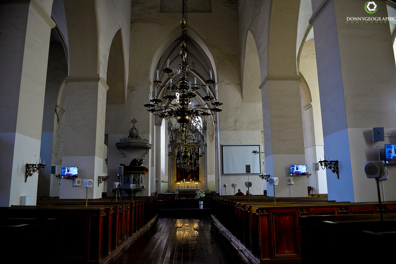 Inside Church notice speakers and tvs.jpg