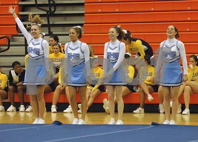 2-25-06 Livonia Stevenson Cheerleaders Compete in Northville