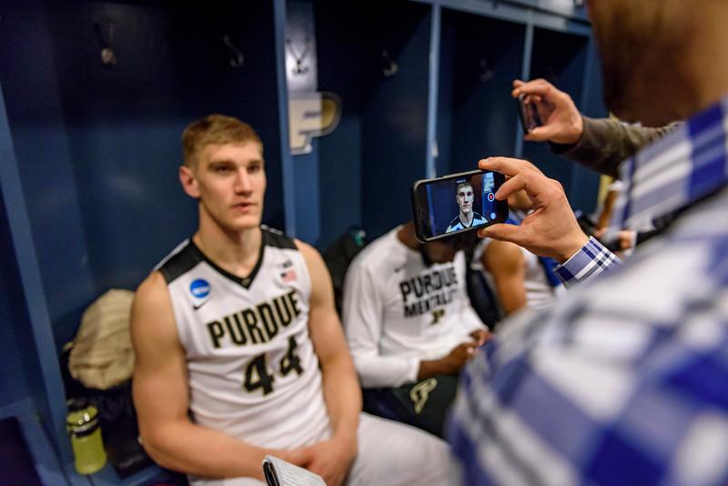 3/16/17 NCAA Tournament, Iowa State, Isaac Haas
