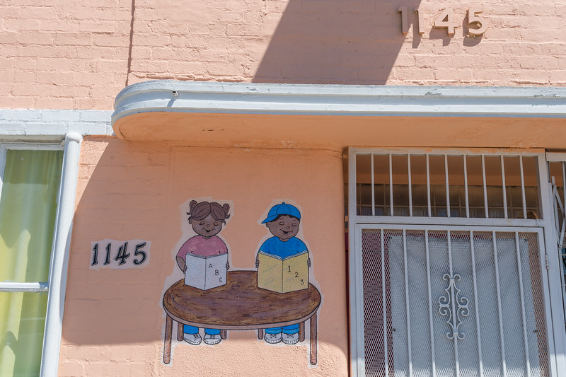 Manchester Boulevard, South Los Angeles.