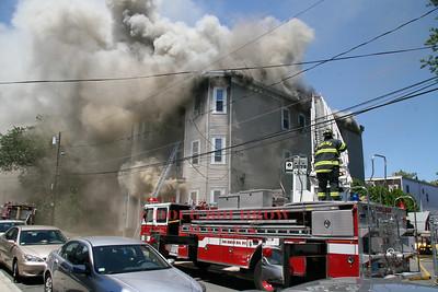Chelsea, MA - 3rd Alarm, 120 Essex Street, 7-16-08