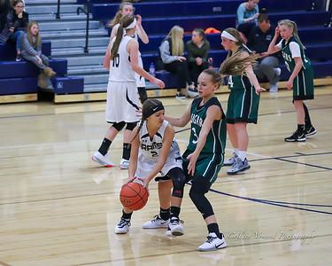 Red Lodge 8th Grade Girls Basketball 2019 - 2020