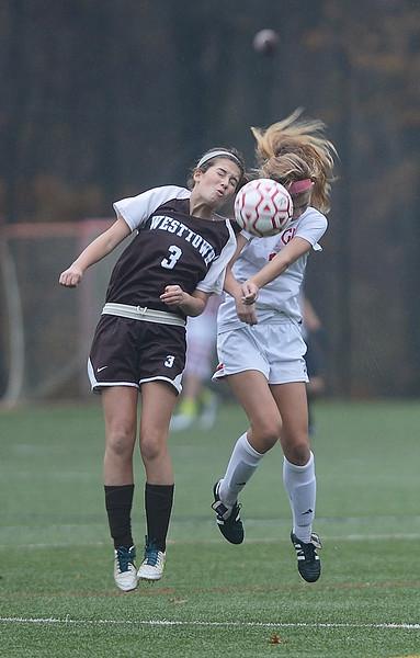 GA defeat Westtown in Girls Soccer