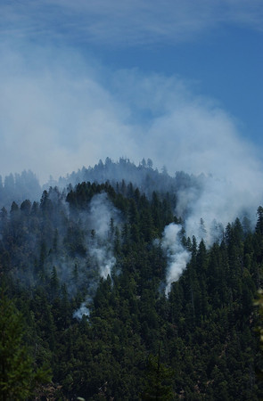 Elk Complex Fire in Happy Camp