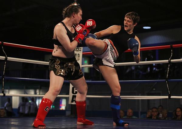 Emma Webb (red) vs. Charlotte Coons (blue)