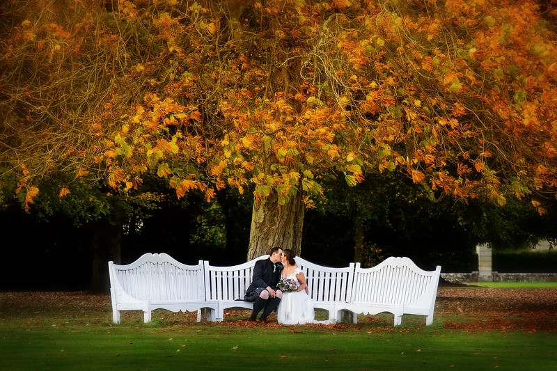 Autumn Wedding Manderston House