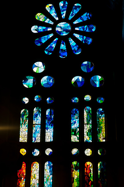 Architectonic detail, Sagrada Familia church (by Gaudi), town of Barcelona, autonomous commnunity of Catalonia, northeastern Spain