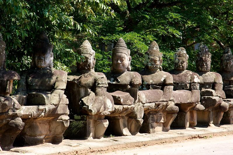 City fortress Angkor Thom