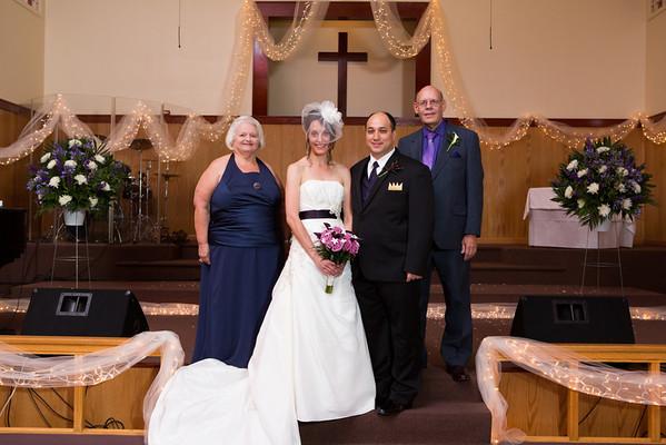 Marty and Elizabeth Wedding - Family
