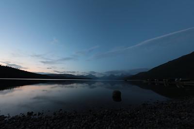 16 12 Lake McDonald Sunset