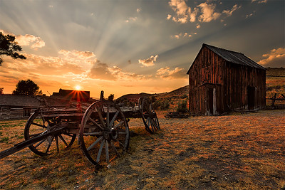 Ghost Towns of Montana, Wyoming and the Dakotas