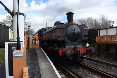 Jaimie at Chinnor Railway March 2016