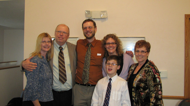 Phillips family- Valerie, Warren and Chris Phillips, Elissa and Dylan Alzate and Judy