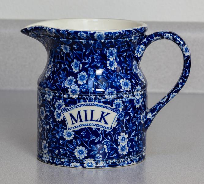 Flow Blue Milk PItcher