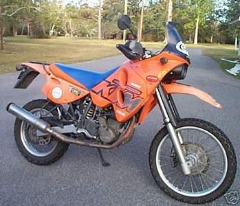 KTM Adventure 620 -  Rebuild