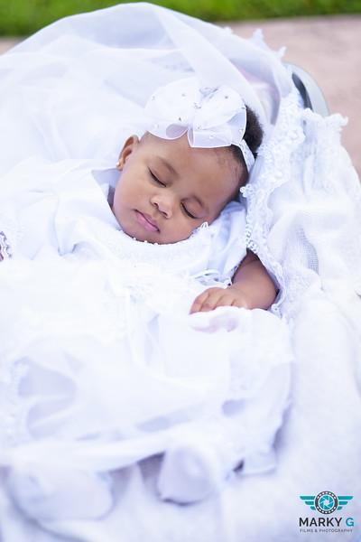 Claudamae Baby Christenening