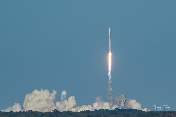 Inmarsat 5 F4 on a Falcon 9 Booster