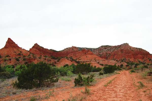 Caprock Canyons - Upper Canyon Trail