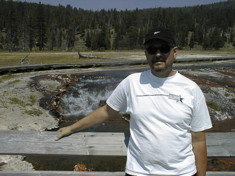 Northwest Tour 2000 - July-August, 2000  - Yellowstone National Park, Wyoming