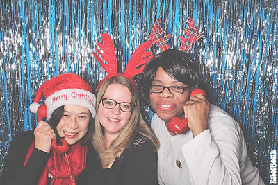 12-14-18 Atlanta Olde Towne Tavern Photo Booth - Chihade Christmas Party - Robot Booth