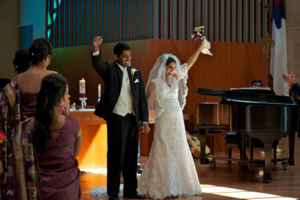 Soumya Mathews weds Jessin Koshy- August 2011