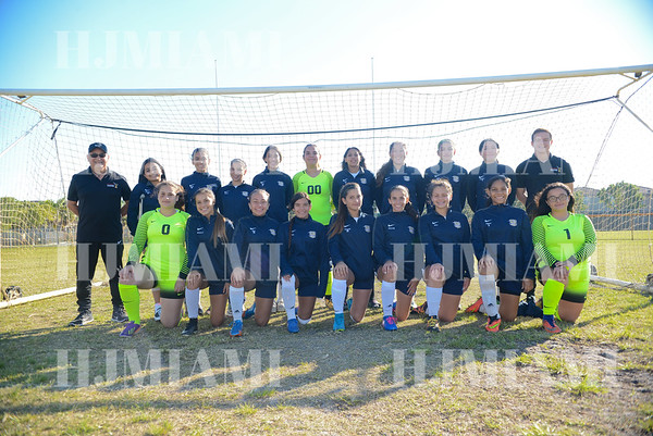 Reagan Girls JV Soccer 12/13/17