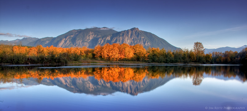 Mount Si - Millpond view.