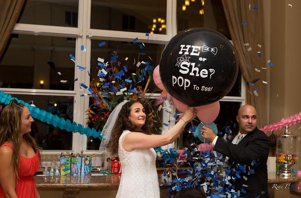 Jesus n Annette's Gender Reveal Party 5-7-16