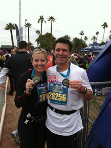 Rock n' Roll 1/2 Marathon - Arizona 2012