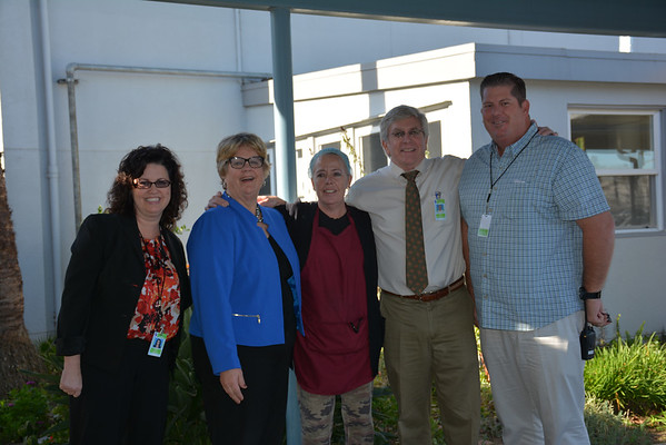 2014-15 Classified Employees of the Year Surprise Visits