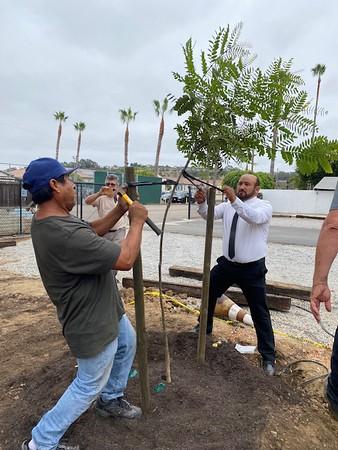 09-26-2021 Season of Creation tree planting