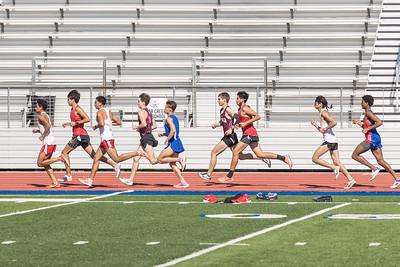 2021.03.25 Boys Magnolia Track at Dickinson HS