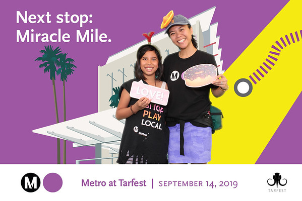 Purple Line Extension, Section 1 at Tarfest 2019 - 9/14/2019