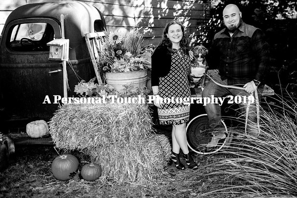 Nicole and Teddy's engagement pictures 2019