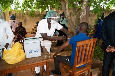 Visite centre vaccination - Lomé