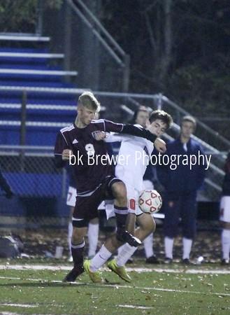HCHS varsity soccer vs Mason regional final