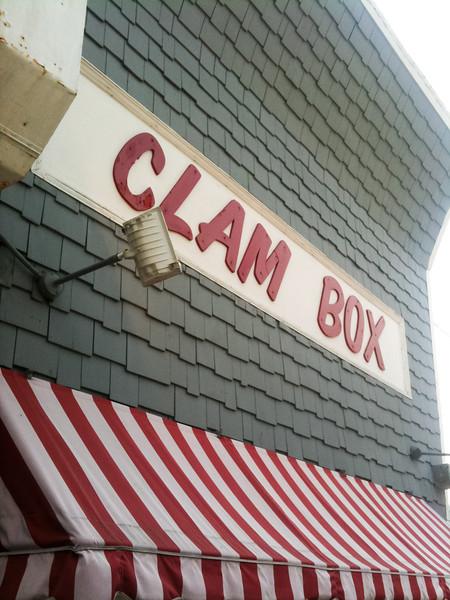 The Clam Box, Ipswich