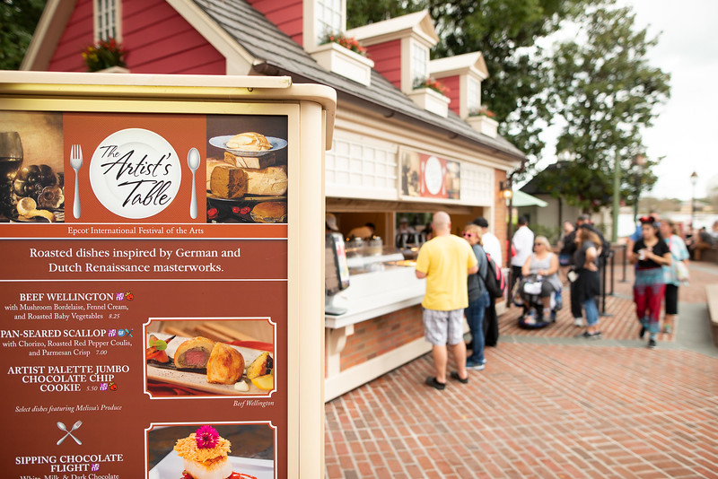 Epcot Food kiosks - Epcot Walt Disney World