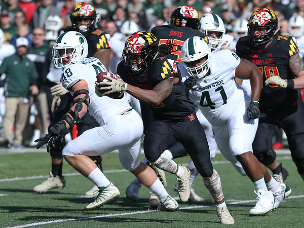 20181103 College Football Michigan State at Maryland